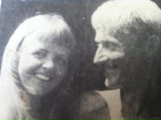 old photo of Nicholas Wessburg & Karen Mogensen