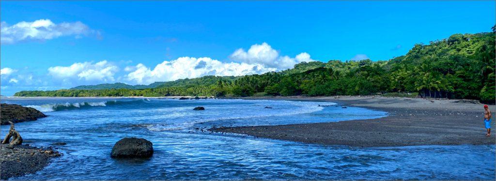 Miguelon beach, where the river meets the pacific ocean