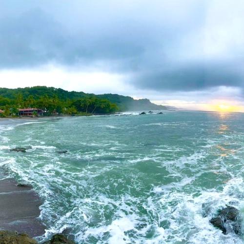 Sunrise at Pangas Beach Montezuma