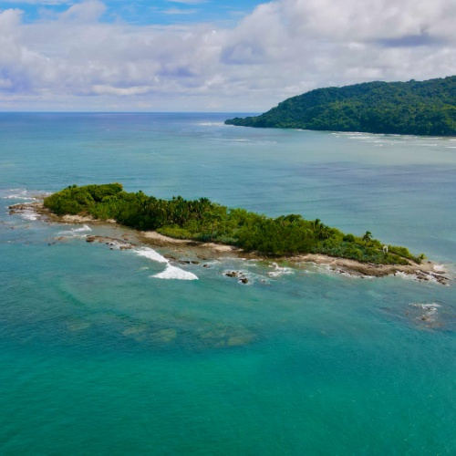 view of Isla Cabuya